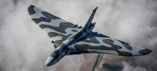 Arvo Vulcan bomber, the inspiration for the Vulcan app name